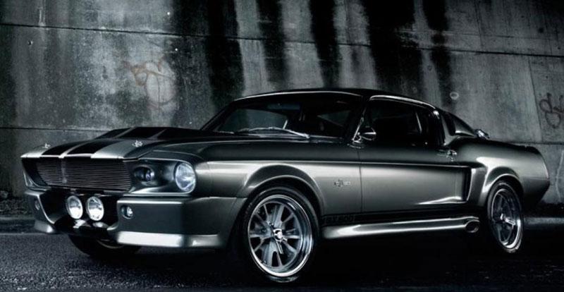 Patchwork - La FORD Mustang Eleanor du film «60 secondes chrono» à gagner sur le site Omaze
