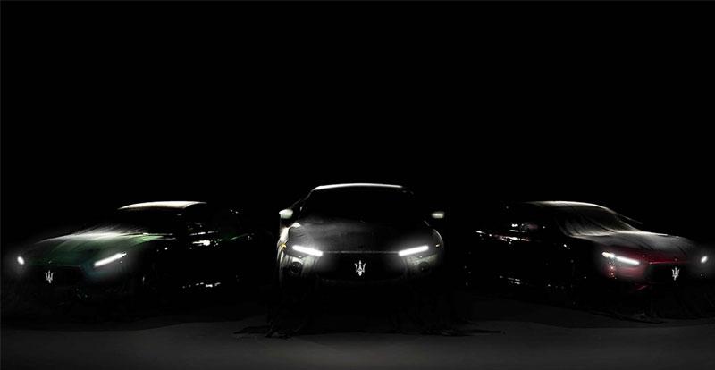 Avant-première - MASERATI annonce l'arrivée prochaine d'une nouvelle gamme de modèles Trofeo