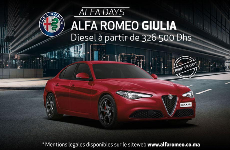 Alfa Romeo Alfa Romeo neuve en promotion au Maroc