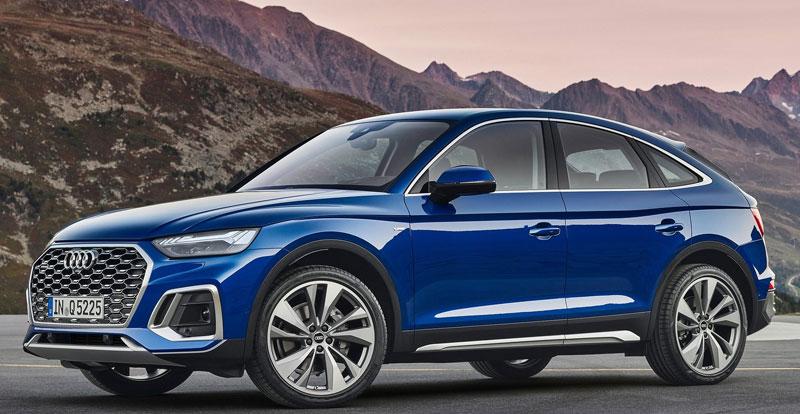 Nouveauté mondiale - AUDI procède au «reveal» du SUV Coupé Q5 Sportback 2021
