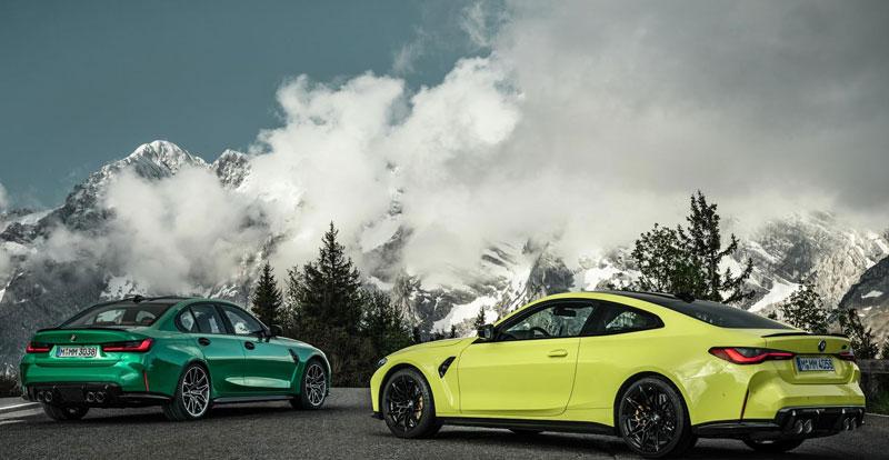 Comme à son habitude, le département Motorsport a su exalter les lignes des Série 3 et Série 4 Coupé sans en faire trop!