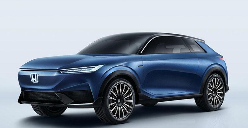 Actu. internationale - HONDA dévoile le prototype de SUV 100% électrique e: Concept