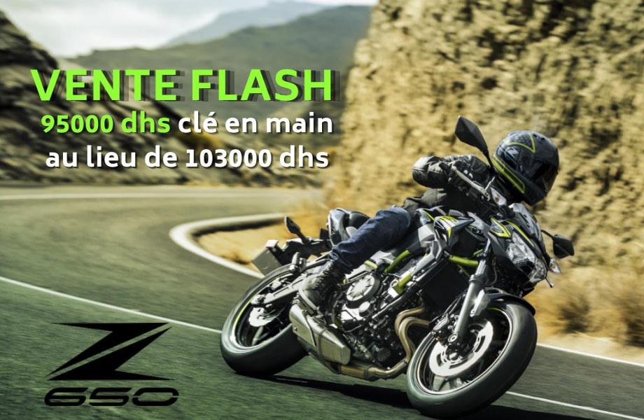 Kawasaki Kawasaki neuve en promotion au Maroc