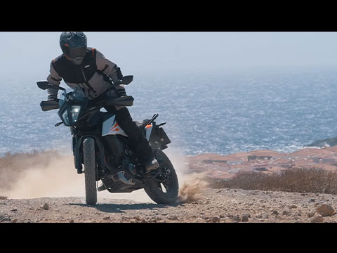 KTM ADVENTURE 390 Maroc