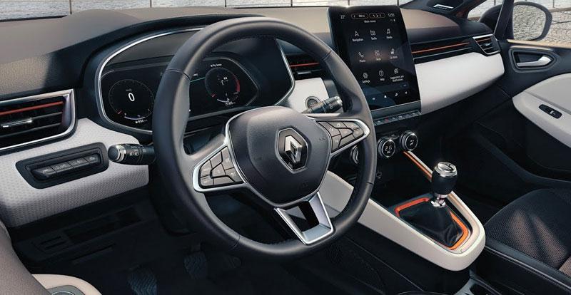 Digitalisation et montée en gamme. A bord de la Clio V, les progrès sont considérables par rapport à sa devancière.