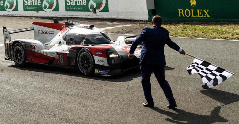 Actu. internationale - TOYOTA s'impose pour la troisième année de rang aux 24 Heures du Mans!