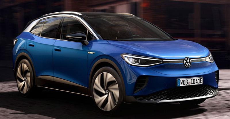 Première mondiale - VOLKSWAGEN dévoile le SUV compact 100% électrique ID.4