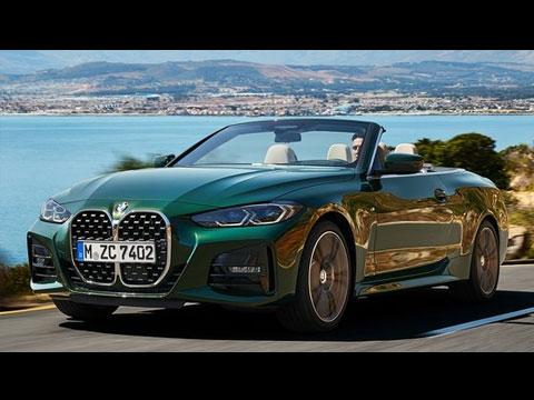 BMW Série 4 Cabriolet 2021 - le clip officiel