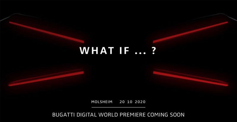 Actu. internationale - BUGATTI publie un teaser mystérieux et annonce une nouvelle hypercar