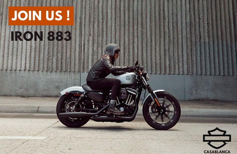 Harley-Davidson Harley-Davidson neuve en promotion au Maroc