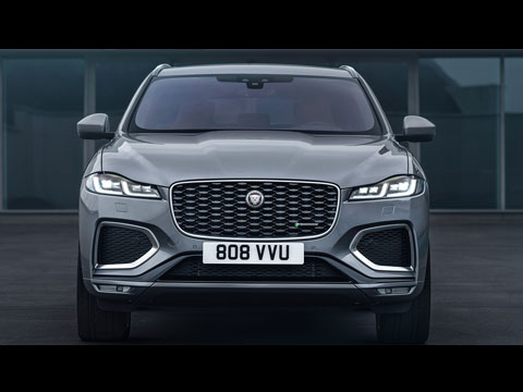 Jaguar F-PACE 2021 - le clip officiel