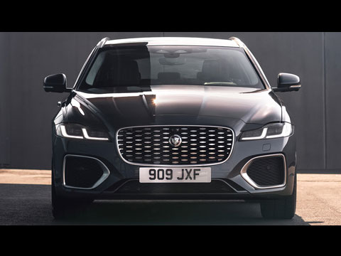 Jaguar XF 2021 - le clip officiel