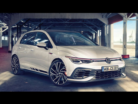 Nouvelle VW Golf 8 GTI Clubsport 2021