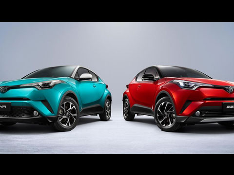 TOYOTA C-HR 2020 Facelift - le clip officiel