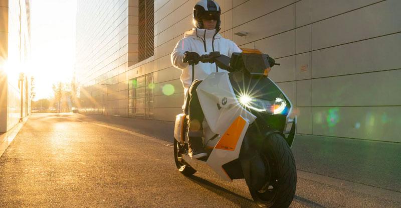 Inédit - BMW Definition CE04, un scooter électrique en approche
