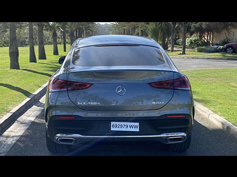 Test-Drive du nouveau MERCEDES GLE Coupé 2020 Maroc