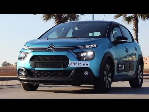 Test Drive de la nouvelle Citroën C3 2020 Maroc