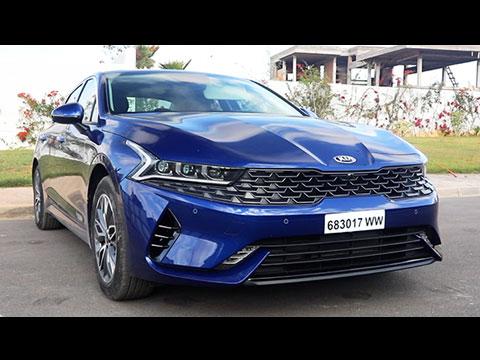 Test Drive de la nouvelle KIA K5 2020 Maroc