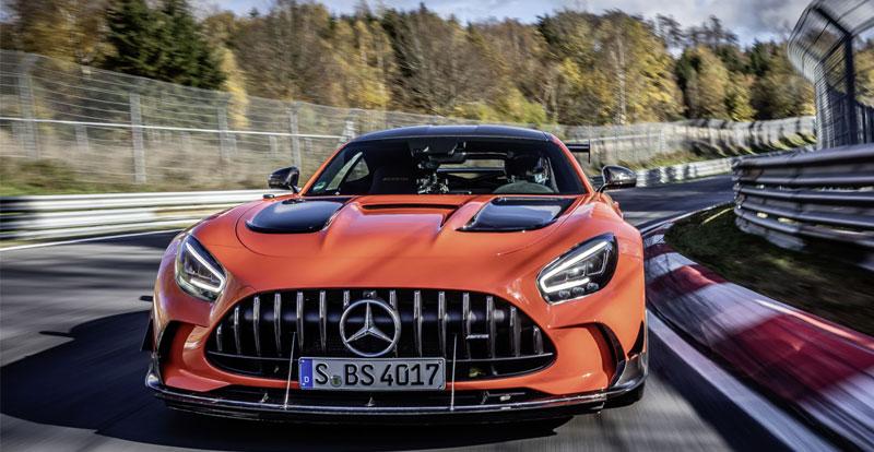 Actu. internationale - MERCEDES-AMG GT Black Series: la vidéo impressionnante de son record au tour sur le Nurburgring