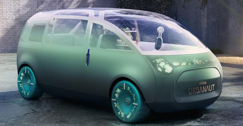 Actu. internationale - MINI dévoile l'étude de style 100% électrique Vision Urbanaut