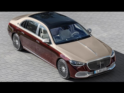 Nouvelle MERCEDES-Maybach Classe S 2021