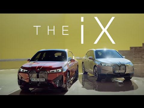 Le tout premier BMW iX