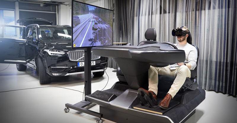 Actu. internationale - VOLVO lève le voile sur un simulateur de conduite révolutionnaire