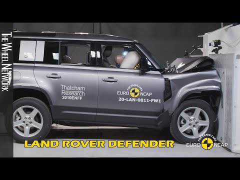 LAND ROVER Defender Crash Test Euro NCAP 2020