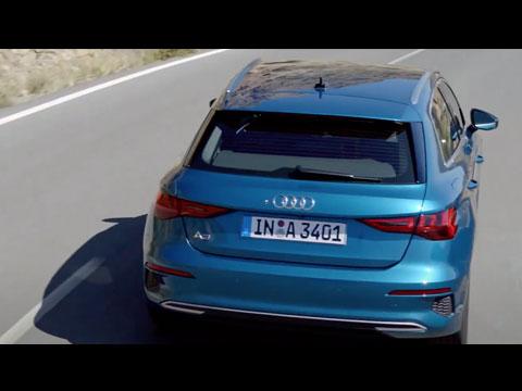 Nouvelle AUDI A3 Sportback sous tous ses angles