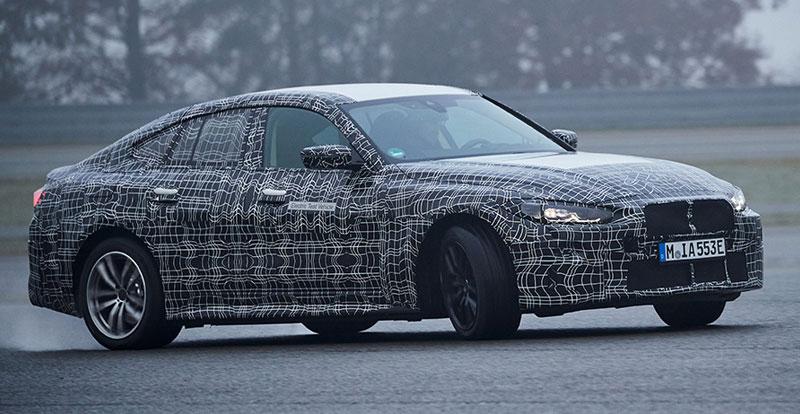 Avant-première - La berline Coupé 100% électrique BMW i4 est entrée dans la phase ultime de son développement