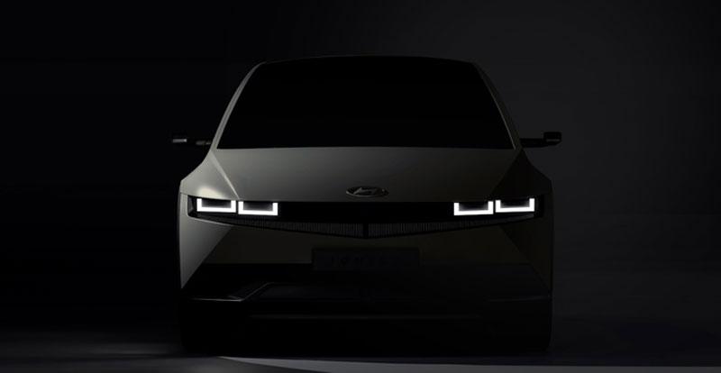 Actu. internationale - HYUNDAI dévoile les premières images teaser de son crossover électrique Ioniq 5