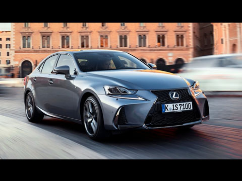 LEXUS IS 300h - le clip officiel