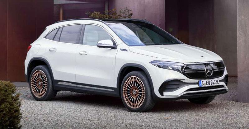 Nouveauté mondiale - MERCEDES a révélé le SUV compact 100% électrique EQA