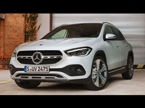 MERCEDES GLA 2020 vs GLA 2014