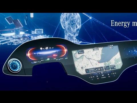 MERCEDES MBUX Hyperscreen 2021