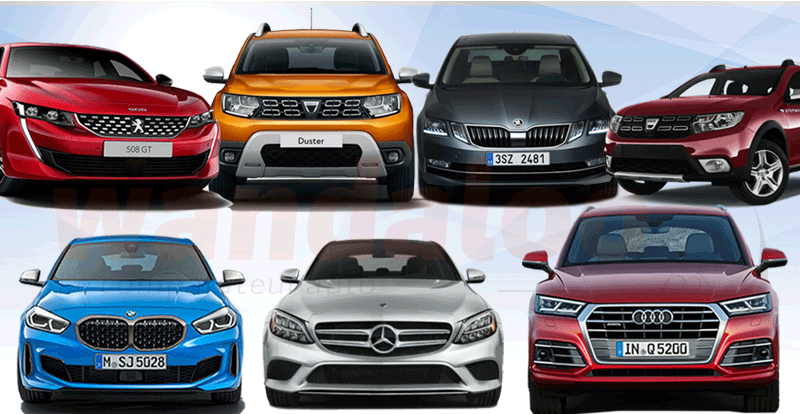 Marché - Les voitures préférées des marocains en 2020