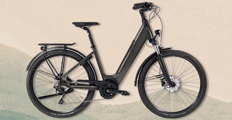 Actu. internationale - PEUGEOT Cycles réinvente le vélo urbain à assistance électrique avec le eC01 Crossover