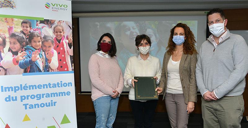 Actu. nationale - Vivo Energy Maroc lance le projet Tanouir en faveur de l'éducation en milieu rural