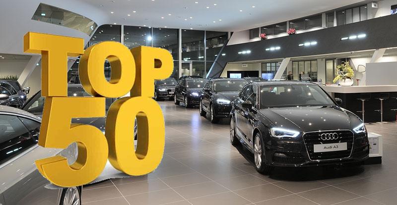 Marché - TOP 50 des meilleures ventes des voitures neuves au Maroc en 2020