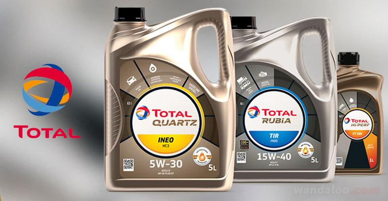 Actu. nationale - Nouveau packaging pour les lubrifiants TOTAL au Maroc