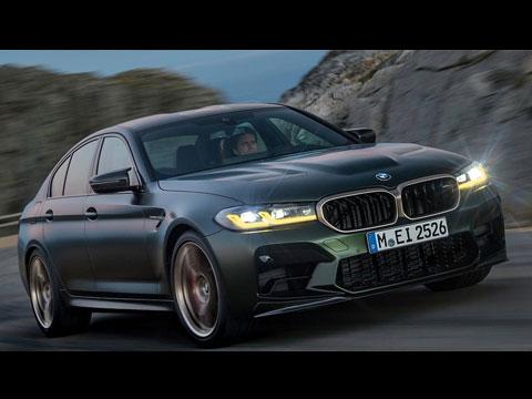 BMW dévoile la sommitale M5 CS 2022