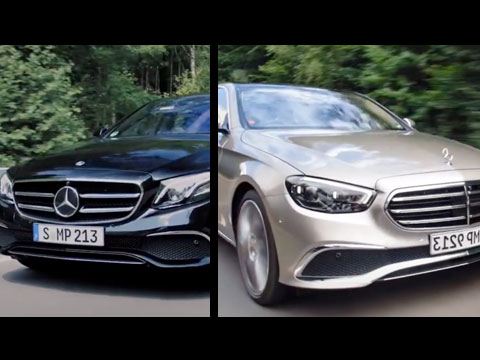 MERCEDES-Benz Classe E 2021 vs 2016