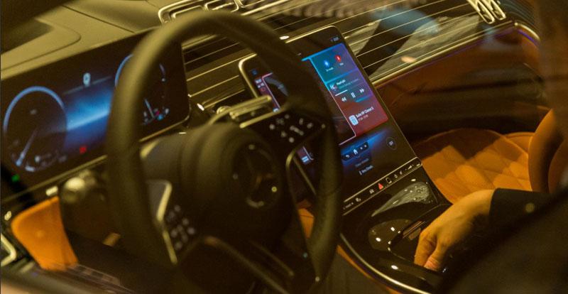 Époustouflant, l\'intérieur de la Mercedes-Benz Classe S 2021
