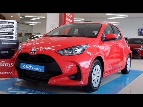 TOYOTA lance sa nouvelle Yaris Hybride au Maroc