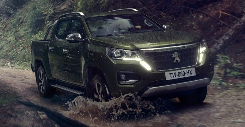 Nouveauté Maroc - Le pick-up PEUGEOT Landtrek présenté en première nationale