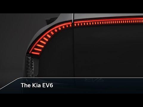 Teaser de la KIA EV6