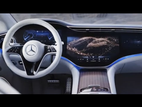 MERCEDES-Benz EQS 2022 : Intérieur dévoilé