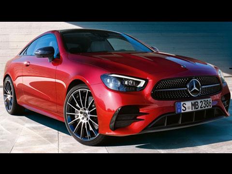 Nouveau Mercedes Classe E Coupé 2020 - le clip officiel