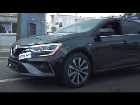 Renault MEGANE 4 Facelift 2021 Maroc