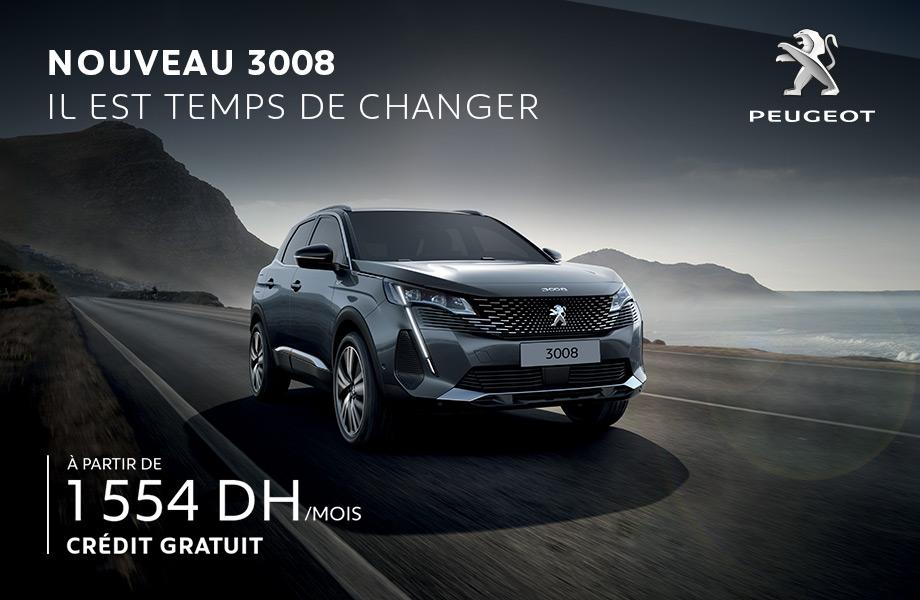 Peugeot Peugeot neuve en promotion au Maroc